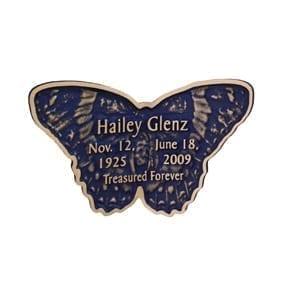 Indigo Blue Butterfly Keepsake