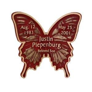 Bronze Butterfly Keepsake