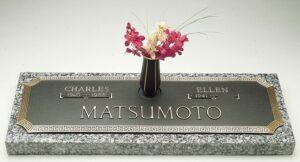 Traditional Bronze Headstone