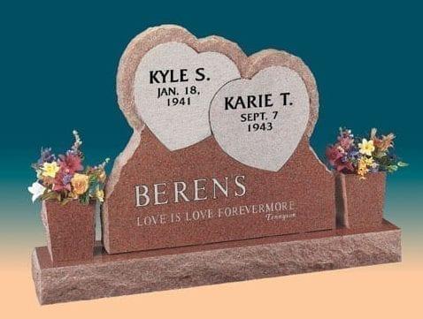 Berens Loving Upright Memorial