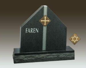 Faren Custom Upright Gravestone