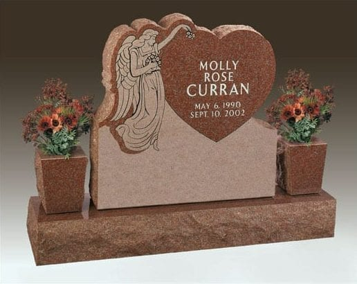Curran Angel Upright Memorial