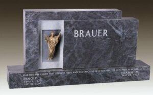 Bauer Family Upright Gravestone