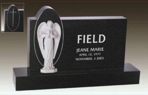 Field Angel Upright Memorial