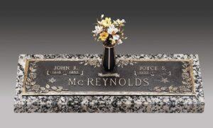 McReynolds Ivy Bronze Memorial