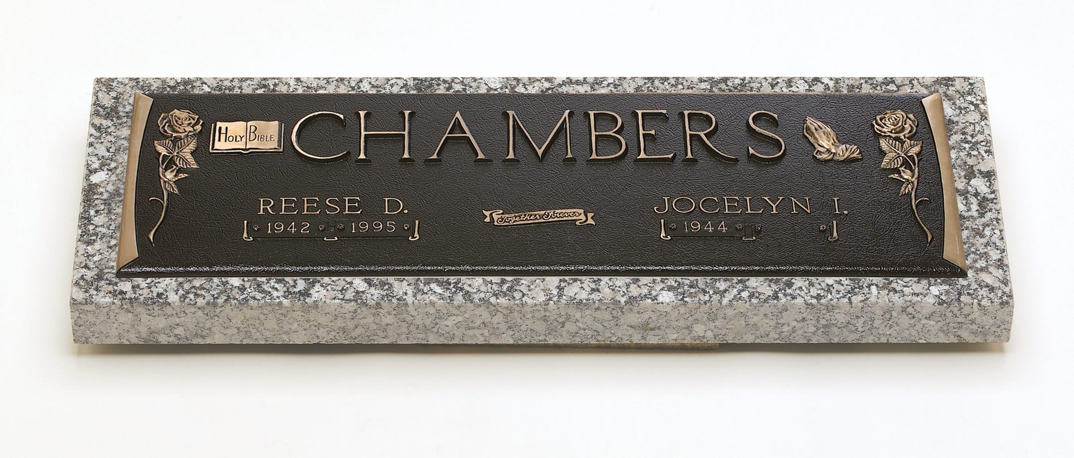 Chambers Faith Bronze Monument
