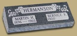 Hermanson Raised Pillow Memorial