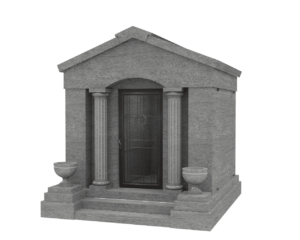 Walk-In Mausoleum – Up To 6 Crypts