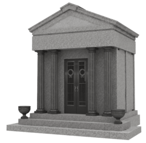 Walk Up Custom Family Estate Mausoleum – Up To Eight Crypts